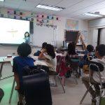 W校授業風景(小3)